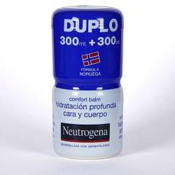 Neutrogena Duplo Bálsamo Corporal Hidratación Profunda Cara y Cuerpo 300ml+300ml