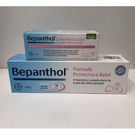BEPANTHOL POMADA PROTECTORA BEBÉ 100G