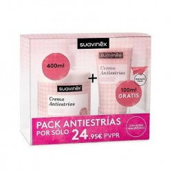 SUAVINEX PACK CREMA ANTIESTRIAS 400+100ML