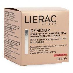 Lierac Déridium Crema Nutritiva corrección de arrugas 50ml